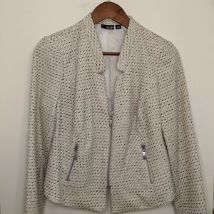 a.n.a Cropped Zip-Up Sparkly Blazer/Jacket Size M